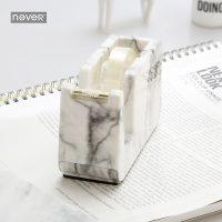 Мраморный держатель диспенсер машинка резак для скотча