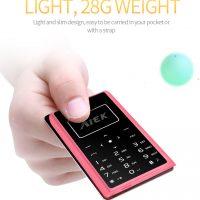 Мобильный ультратонкий карманный мини телефон AIEK X7 1.0″