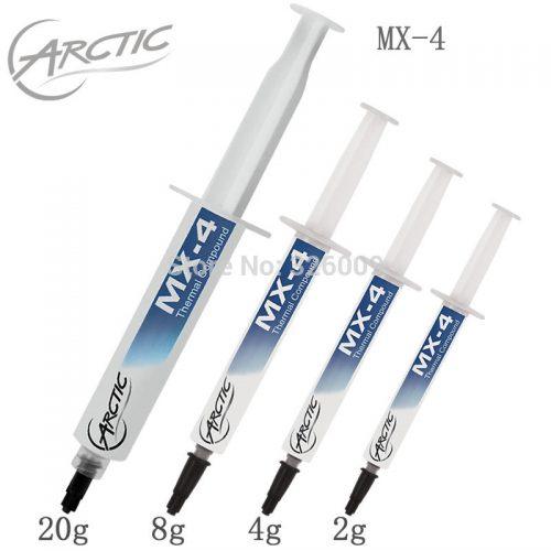 Термопаста ARCTIC MX-4 8.5 Вт/MK 2/4/8/20 г