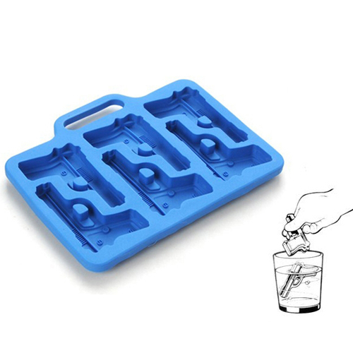 Силиконовая форма для льда, выпечки Пистолеты