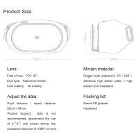 3D очки виртуальной реальности Xiaomi VR Play 2 Headset