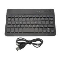 Механическая ультратонкая беспроводная клавиатура Bluetooth 3.0 для смартфона, планшета, ноутбука и ПК