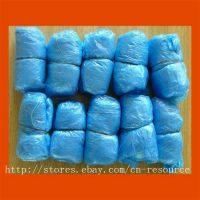 Одноразовые голубые бахилы 100 шт. (50 пар)
