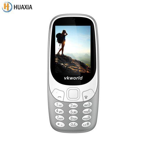 VKworld Z3310 мобильный телефон с двумя SIM-картами 2.4″, 1450 мАч