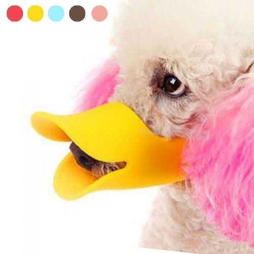 Силиконовый намордник для собак в виде клюва утки