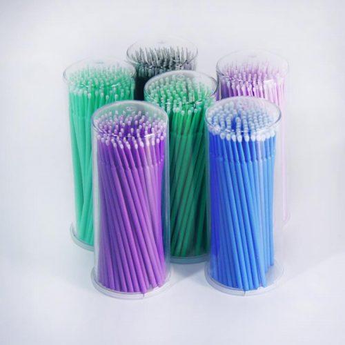 Микробраши для наращивания ресниц 100 шт./упак.