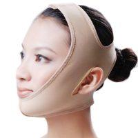 Повязка бандаж на голову для коррекции и подтяжки овала лица