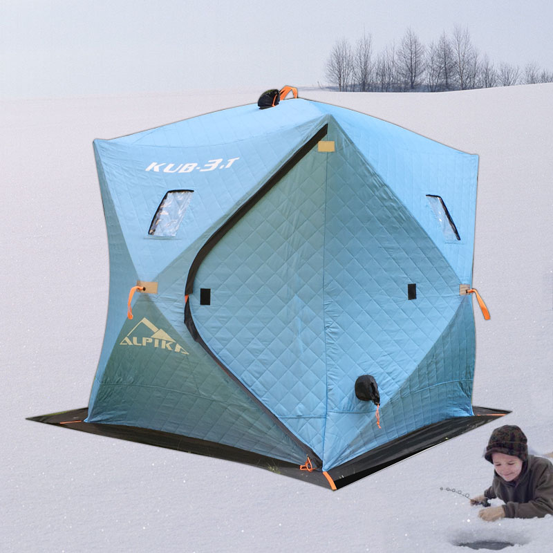 палатка для зимней рыбалки снегирь