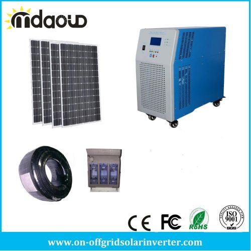 Набор из солнечных батарей и устройства для накопления заряда