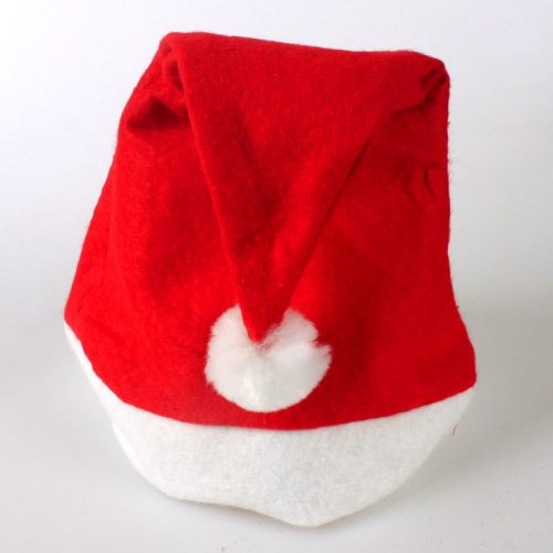 Красный колпак Деда Мороза (Санта Клауса) для взрослых или для детей