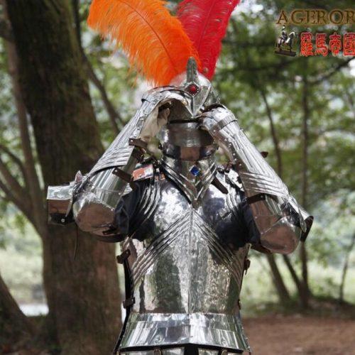 Средневековые рыцарские доспехи броня из нержавеющей стали