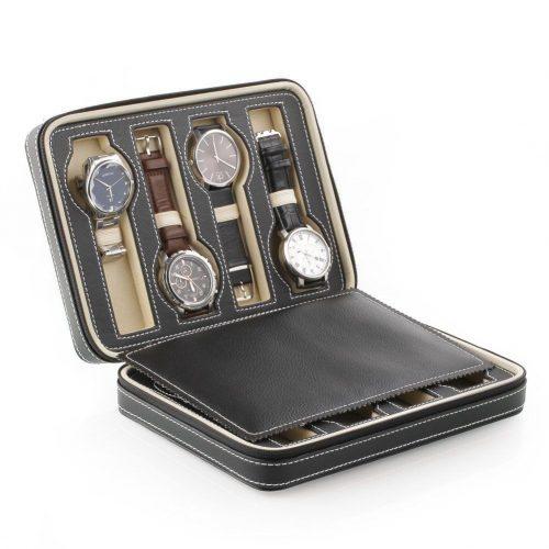 Шкатулка кейс коробка для хранения 8 наручных часов