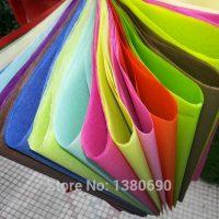 Упаковочная бумага для подарков, цветов 10 шт. 50х70 см (26 цветов на выбор)