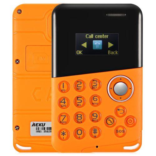 Мобильный мини телефон кардфон AIEK M8 0.96″
