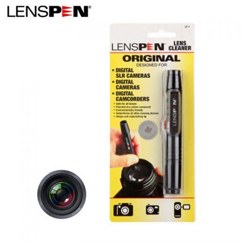 Двухсторонний карандаш кисточка для очистки оптики Lenspen