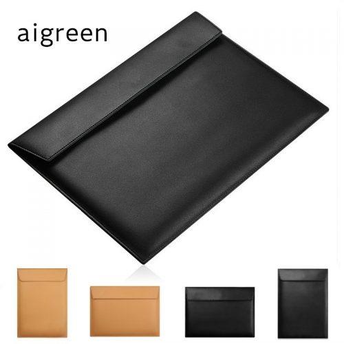 Кожаный чехол сумка для Macbook Air 11″, Air 13″, Retina 13.3″, 15.4″