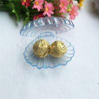 Подарочная коробка Ракушка для колец, сережек, конфет 10 шт.