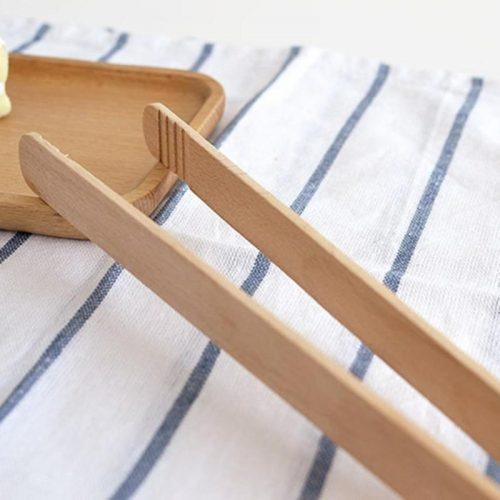 Деревянные кухонные щипцы