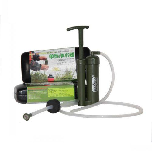 Портативный походный фильтр для очистки воды