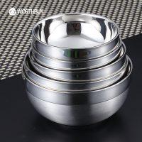 Пищевой металлический контейнер из нержавеющей стали с крышкой или без