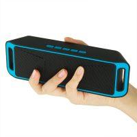 SC208 Портативная беспроводная Bluetooth 4.0 колонка динамик с Fm радио и микрофоном