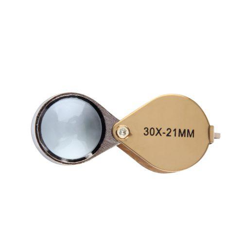 Лупа увеличительное стекло 30X 21 мм