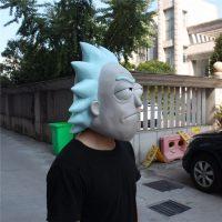 Латексная маска Рика и Морти (Rick and Morty) для взрослых