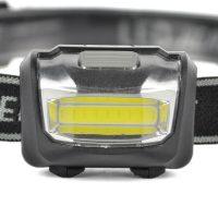 Светодиодный аккумуляторный налобный фонарик
