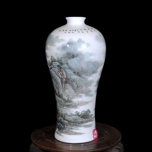 Керамическая китайская ваза