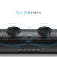 M&J Портативная беспроводная водонепроницаемая Bluetooth колонка динамик с Fm радио и поддержкой карт памяти