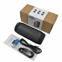 Lewinner BQ-615 Портативная беспроводная светящаяся водонепроницаемая Bluetooth колонка динамик с Fm радио, микрофоном и с LED эквалайзером