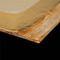 Золотая фольга для скрапбукинга 100 шт. 16 x 16 см
