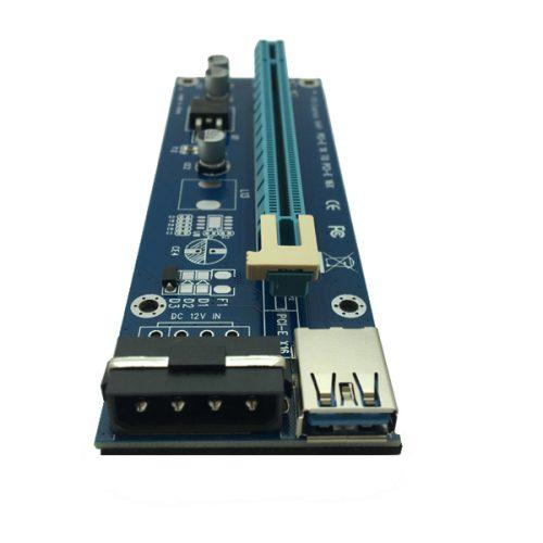 Райзеры 1x для видеокарт для майнинга (разъем PCI-E x16)