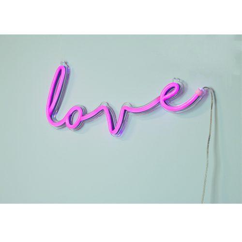 LED неоновая надпись свет на стену для декора LOVE