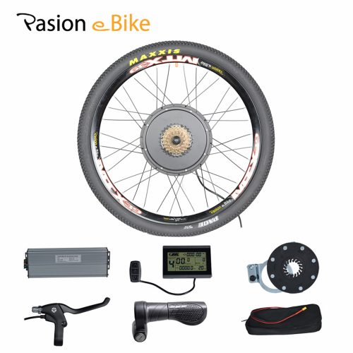 Колесо с электродвигателем для велосипеда