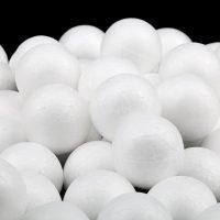 Маленькие шары из пенопласта для декорирования декупажа своими руками 100 шт.