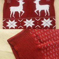 Женские и мужские новогодние свитера с оленями на Алиэкспресс - место 8 - фото 1