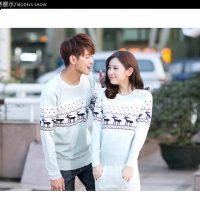 Женские и мужские новогодние свитера с оленями на Алиэкспресс - место 3 - фото 2