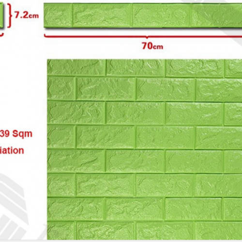 3D обои кирпичная стена