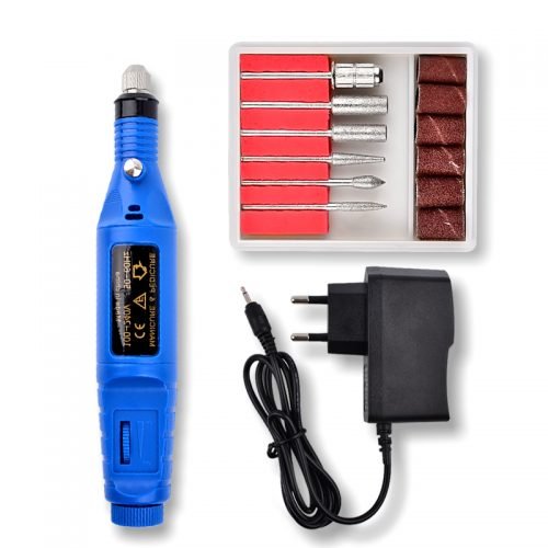 Электрическая ручка фрезер машинка для маникюра и педикюра со сменными фрезами