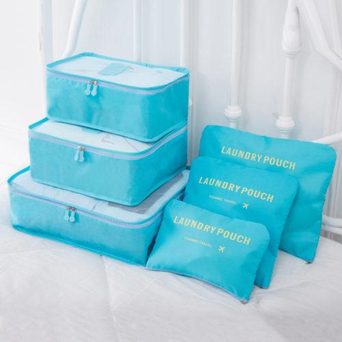 Дорожные органайзеры, сумки и косметички для вещей в чемодан 6 шт./компл.
