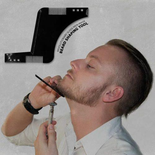 Шаблон трафарет для стрижки бороды