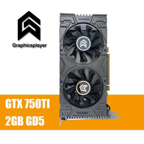 Видеокарта Graphicsplayer GTX 750TI 2048MB/2GB 128bit GDDR5