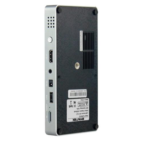 BYINTEK MD322 Цифровой светодиодный карманный портативный WI-FI проектор для домашнего кинотеатра USB HD 1080 P HDMI