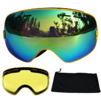 Противотуманные лыжные очки с защитой УФ-400