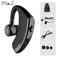 M&J V9 беспроводная мини-bluetooth-гарнитура наушник с микрофоном для водителя