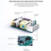 FONKEN Зарядное сетевое устройство на 4 USB порта