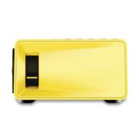 AAO YG300 Цифровой портативный светодиодный проектор для домашнего кинотеатра 400-600LM 1080 P видео 320×240 пикселей