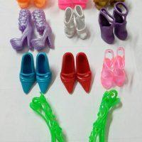 Обувь туфли для куклы Барби 10 пар