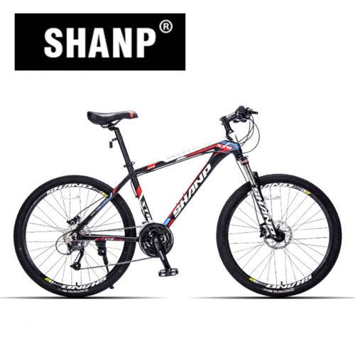 SHANP Горный велосипед с гидравлическими и механическими тормозами (колеса 26″, 27 скоростей)